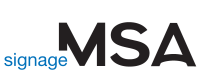 MSA Signage